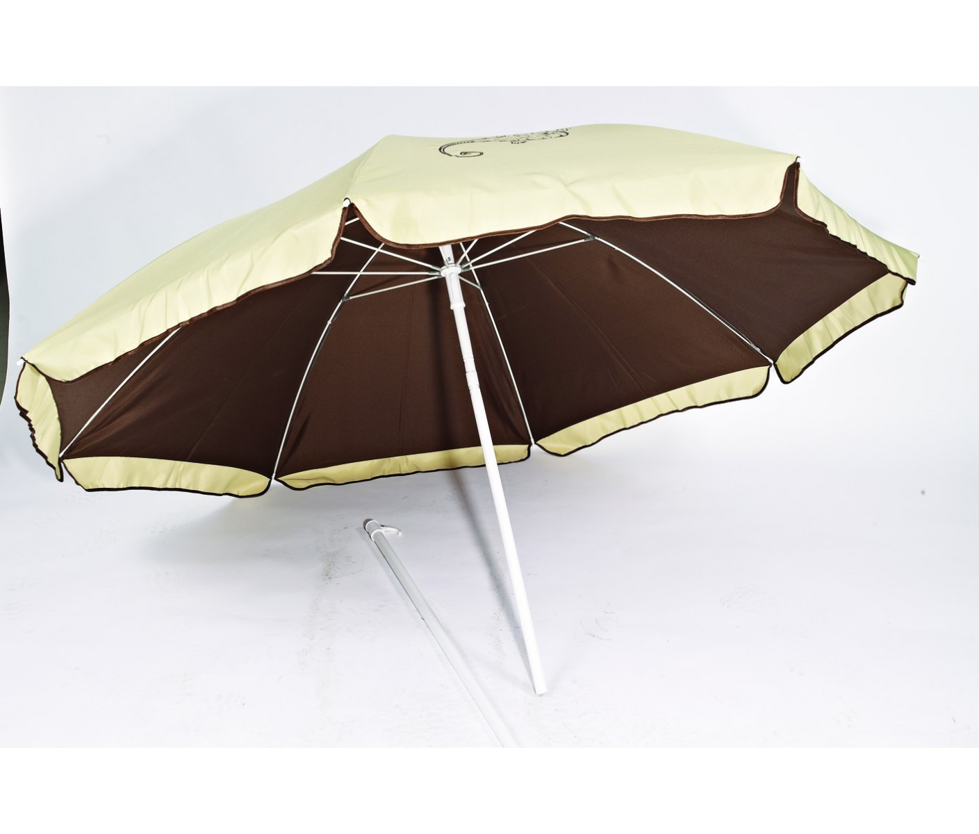 Parasol double anti uv 180 cm 10621 - Parasol anti uv 50 ...
