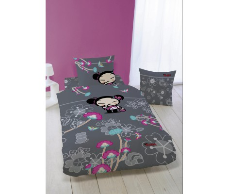 HOUSSE DE COUETTE+1 TAIE PUCCA