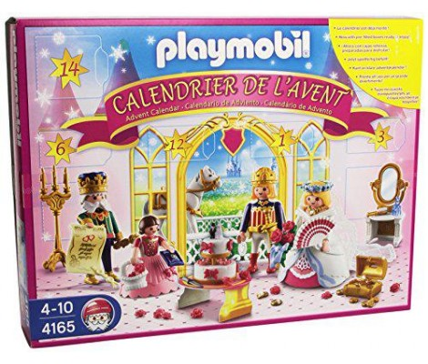 playmobil 4165 jeu de construction calendrier de l 39 avent mariage de la princesse 84755. Black Bedroom Furniture Sets. Home Design Ideas