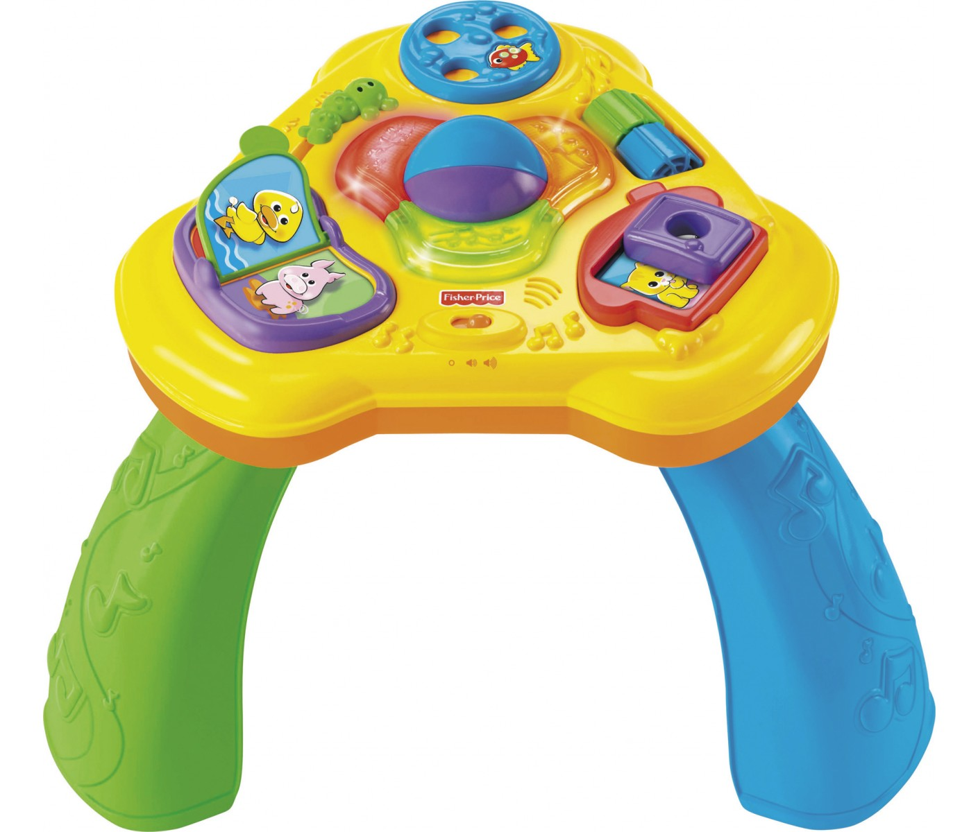 Table d 39 activit fisher price 7969 - Table de jeux fisher price ...