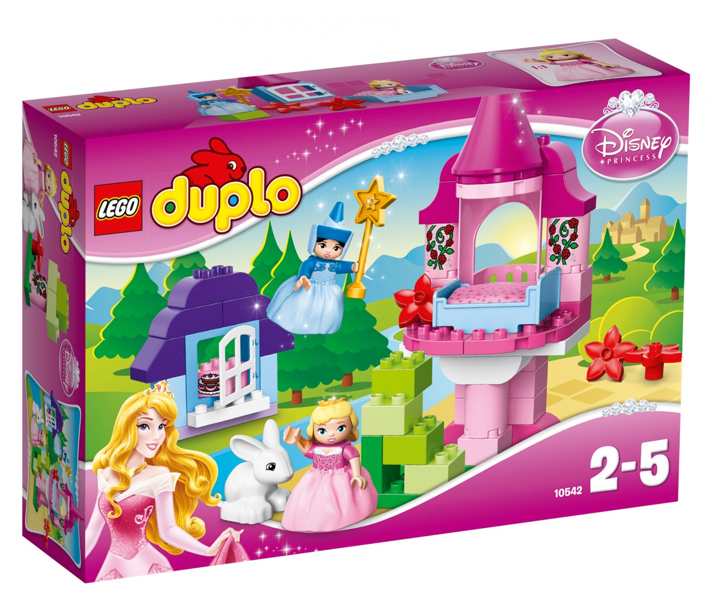 la belle au bois dormant et sa f e lego duplo disney princess 72666. Black Bedroom Furniture Sets. Home Design Ideas