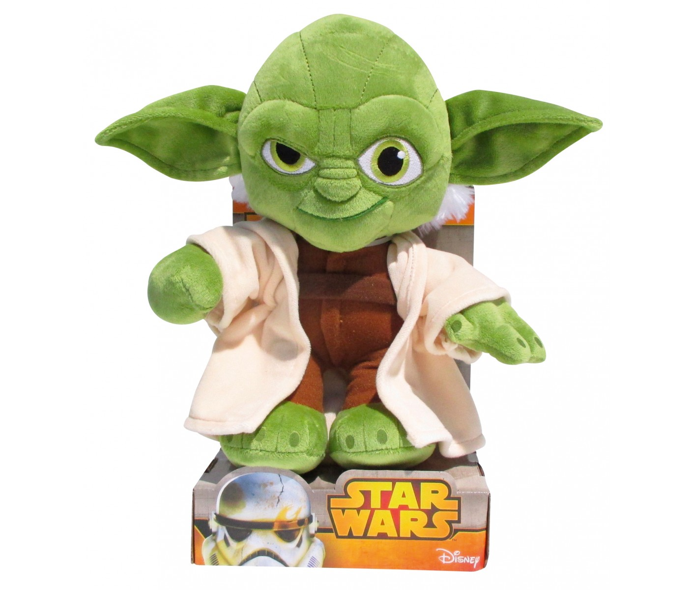 peluche maitre yoda star wars disney 52498. Black Bedroom Furniture Sets. Home Design Ideas