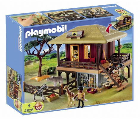 CENTRE SOINS ANIMAUX SAUVAGES 4826 PLAYMOBIL