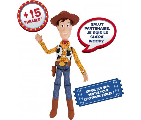Lansay - Woody Parlant - Toy Story 4