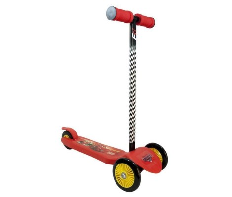 CARS Trottinette 3 Roues Twist Rouge