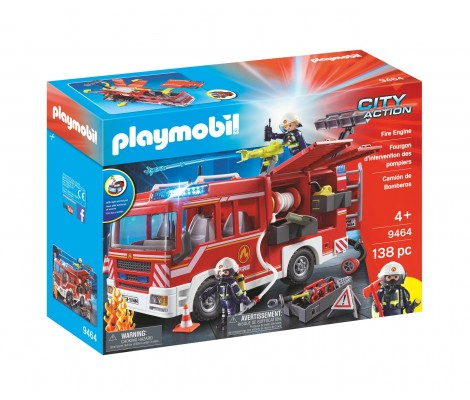 Playmobil - City Action - Fourgon Intervention Pompiers