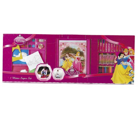 SET COLORIAGE PRINCESSE DISNEY
