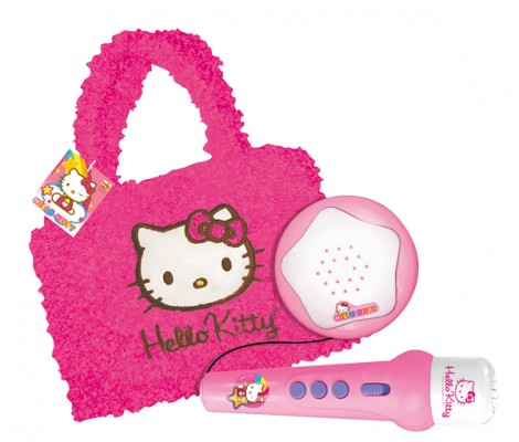 Micro + Amplificateur + Sac Hello Kitty