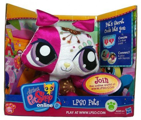 Littlest Pet Shop - 92370 - Peluche Online - Chat Décoré