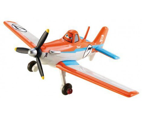 Disney - Planes - Racing Dusty - Avion 5 cm