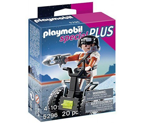 Playmobil - 5296 - Figurine - Agent Secret Et Gyropode
