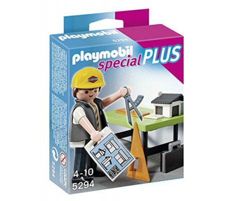 Playmobil - 5294 - Figurine - Architecte