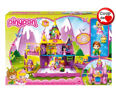 Pinypon Le Chateau 3 Figurines