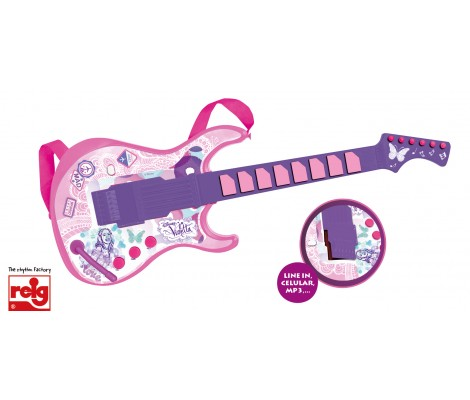 Guitare Electronique Violetta