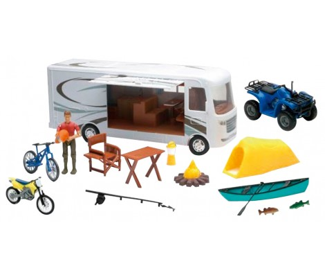 Coffret véhicules Camping Adventure