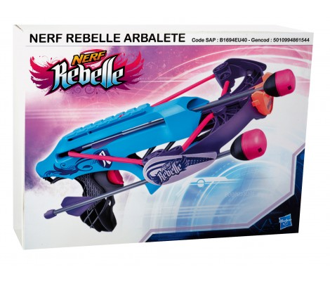 Pistolet Nerf Rebelle Arbalète Flèches