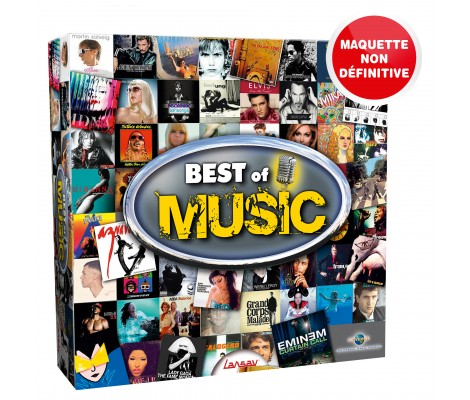 Jeu Best Of Music Lansay