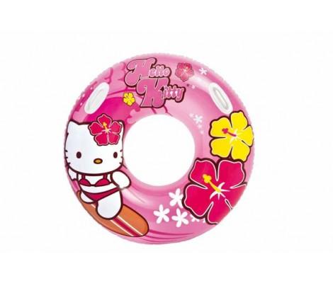 Bouée Gonflable D97 cm Hello Kitty Intex