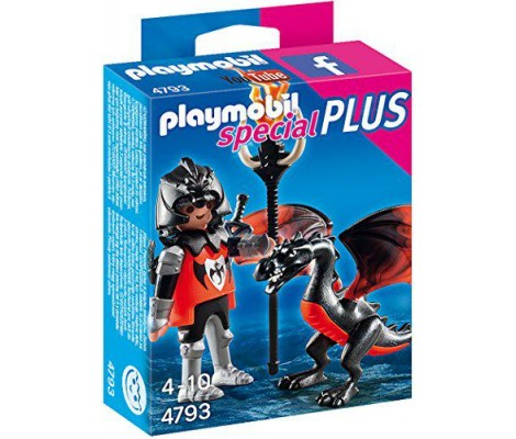 Playmobil Chevalier Avec Dragon 4793