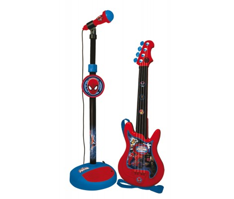 Guitare Et Micro Spiderman
