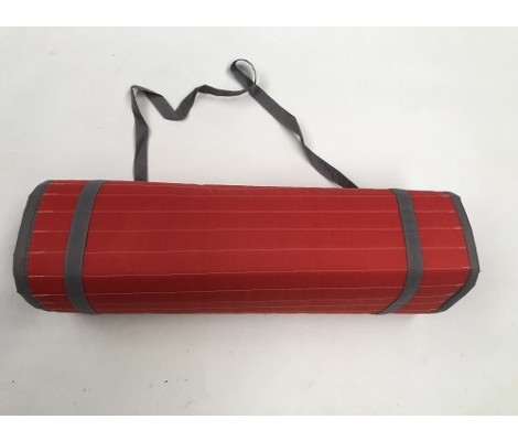 Matelas Plage Enroulable rouge