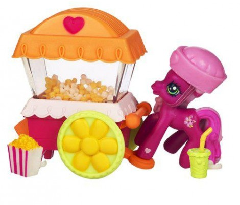 Hasbro - My Little Pony - Les Amis Ponyville - Cheerilee - Preparation De Pop Corn