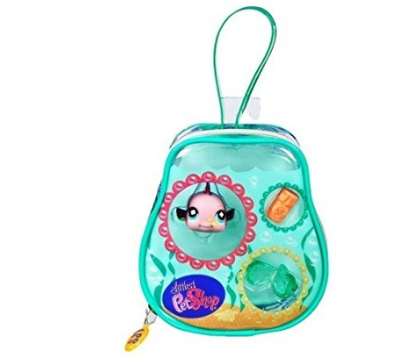 Figurine Little Petshop - Sac Poisson