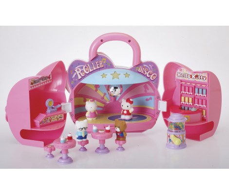 COFFRET ROLLER DISCO HELLO KITTY
