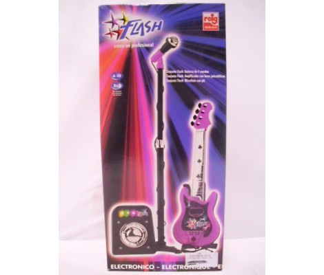 SET GUITARE + MICRO + AMPLI ROSE REIG