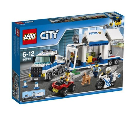 LEGO City - Le Poste de Commande mobile