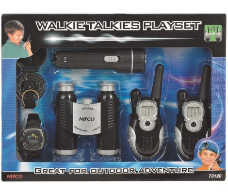 SET AVENTURE TALKIE WALKIE