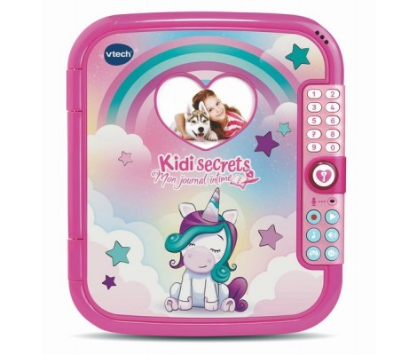 KIDISECRETS JOURNAL INTIME LICORNE