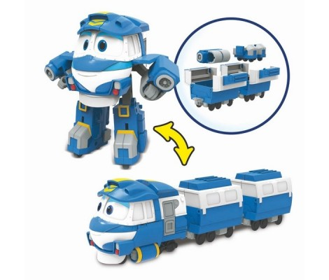 ROBOT TRAINS FIGURINE TRANSFORMABLE DELUXE KAY