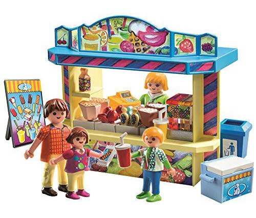 playmobil a1501476 jeu de construction stand de friandises 55818. Black Bedroom Furniture Sets. Home Design Ideas
